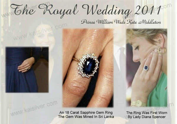 kate middleton big sapphire wedding ring