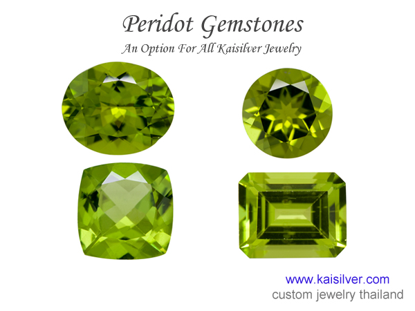 green stone rings for men peridot